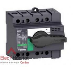Interrupteur-sectionneur tripolaire 3P80A INS80 Schneider 28904