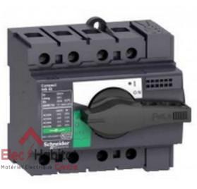 Interrupteur-sectionneur tétrapolaire 4P80A INS80 Schneider 28905