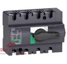 Interrupteur-sectionneur tétrapolaire 4P125A INS125 Schneider 28911