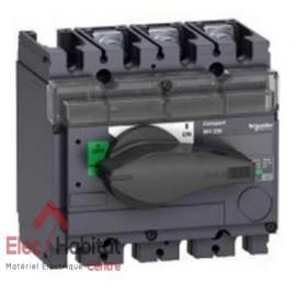 Interrupteur-sectionneur tripolaire 3P160A INV160 Schneider 31164