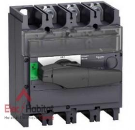 Interrupteur-sectionneur tripolaire 3P400A INV400 Schneider 31170