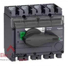 Interrupteur-sectionneur tétrapolaire 4P160A INV160 Schneider 31165