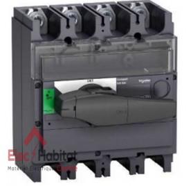 Interrupteur-sectionneur tétrapolaire 4P400A INV400 Schneider 31171