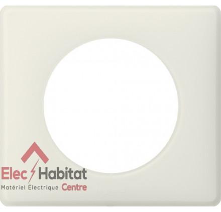 Lot de 5 plaques simple Céliane poudré craie Legrand 066701