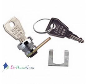 Serrure à clef N°850 pour coffret drivia 13 et 18 modules Legrand 401391