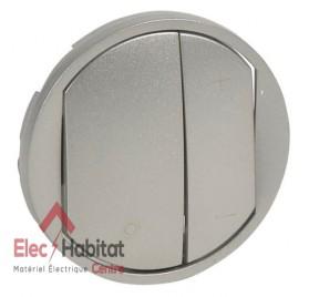 Manette variateur, écovariateur Céliane titane Legrand 065183