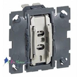Mécanisme bouton poussoir 6A avec contact libre de potentiel Céliane Legrand 067034