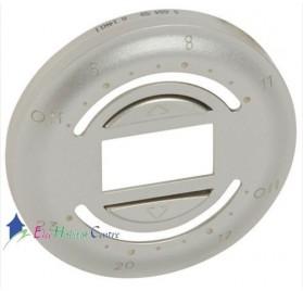 Enjoliveur interrupteur volet roulant avec programmation journalière Céliane titane Legrand 068459
