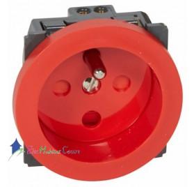 Mécanisme prise de courant 2P+T 16A à détrompage Céliane Legrand 067114