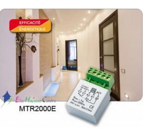 Télérupteur temporisé encastré 2000W MTR2000e Yokis 5454350
