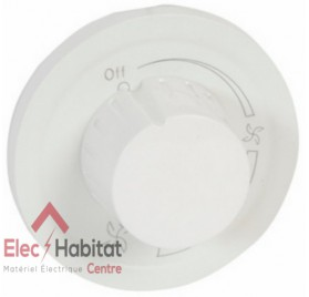 Manette variateur pour ventilateur Céliane blanc Legrand 068088