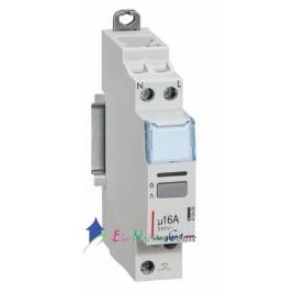 Télérupteur unipolaire silencieux 230V 16A Legrand 412400