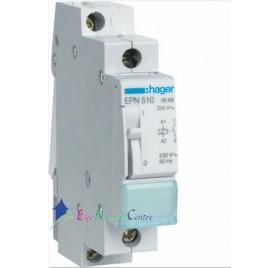 Télérupteur unipolaire 230V 16A Hager EPN510