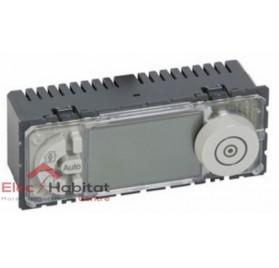 Mécanisme thermostat d'ambiance fil pilote 6 ordres programmable Céliane Legrand 067412