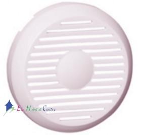 Enjoliveur blanc alimentation pour tuner avec HP intégré Céliane Legrand 068229