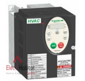 Variateur de vitesse pour pompe ou ventilateur Altivar ATV212 480v 0.75kW tri Schneider ATV212H075N4