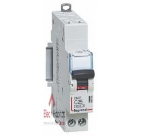 Disjoncteur Ph+N 25A DNX3 auto/vis Legrand 406785