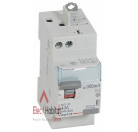 Interrupteur différentiel 2P40A 300mA type AC Vis/Auto Legrand 411635