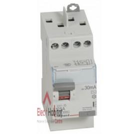 Inter différentiel 2P25A 30mA type AC Vis/Vis Legrand 411610