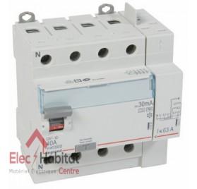 Interrupteur différentiel 4P40A 30mA type HPI Vis/Auto Legrand 411658