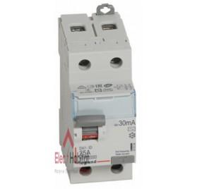 Inter différentiel 2P25A 30mA type AC Vis/Vis Legrand 411504