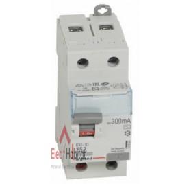 Inter différentiel 2P25A 300mA type AC Vis/Vis Legrand 411524