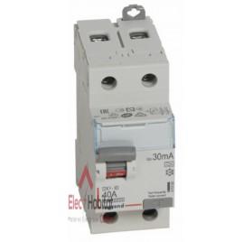 Inter différentiel 2P40A 30mA type A Vis/Vis Legrand 411555