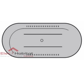 Enjoliveur titane point d'accès Wi-Fi mono et bi-bande Céliane Legrand 068558