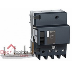 Bloc différentiel Vigi NG125 3P125A sensibilité réglable de 300 à 1000mA type A Schneider 19044