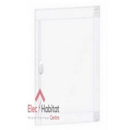 Porte transparente pour coffret électrique 3 rangées de 24 modules Schneider PRA15324