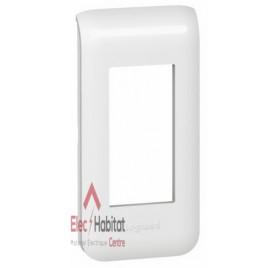 Plaque 1 module Mosaic blanc Legrand 078801