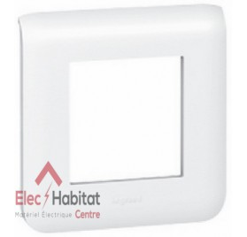 Plaque simple Mosaic blanc Legrand 078802