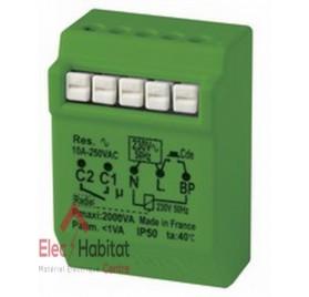 Télérupteur temporisé radio power 2000W MTR2000erp Yokis 5454462