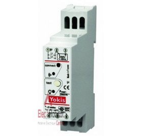 Télérupteur temporisé modulaire radio power 2000W MTR2000mrp Yokis 5454464