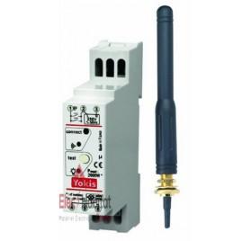 Télérupteur temporisé modulaire radio power 2000W avec antenne MTR2000mrpx Yokis 5454465