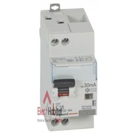 Disjoncteur différentiel 2P16A 30mA type AC Legrand 410705