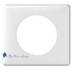 Plaque simple neutre blanc Céliane Legrand 068631