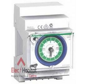 Interrupteur horaire mécanique hebdomadaire 1 contact Schneider CCT15367