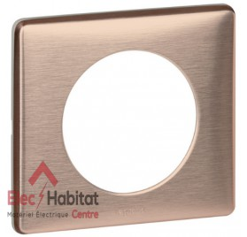 Plaque simple Métal copper Legrand 068991