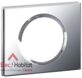 Plaque simple Matière verre miroir Legrand 069121