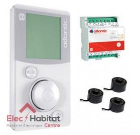 Gestionnaire d'énergie Pack confort ELEC io-homecontrol 230V Atlantic 602230