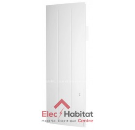 Radiateur inertie aluminium ONIRIS PI CONNECTE vertical 1000w Atlantic 518810