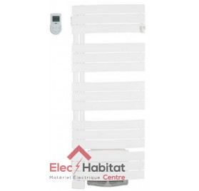 Radiateur sèche serviette NEFERTITI Pivotant blanc 1500w mat à gauche Atlantic 850315