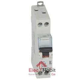 Disjoncteur Ph+N 16A DNX3 à vis Legrand 406774