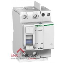Inter différentiel 2P63A 30mA type AC Vis/Vis Schneider 23162