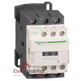 Contacteur triphasé 9A LC1D09 bobine 48v Schneider LC1D09E7