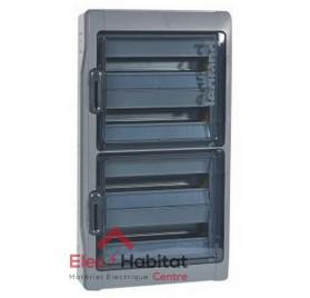 Tableau coffret électrique 4 rangées 72 modules étanche IP65 Legrand 01927