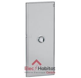 Porte transparente pour coffret 4 rangées Legrand 401344