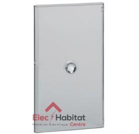 Porte transparente pour coffret électrique 4 rangées de 18 modules Legrand 401244