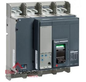 Disjoncteur compact NS1250N micrologic 2.0 1250A 4P4D Schneider 33480